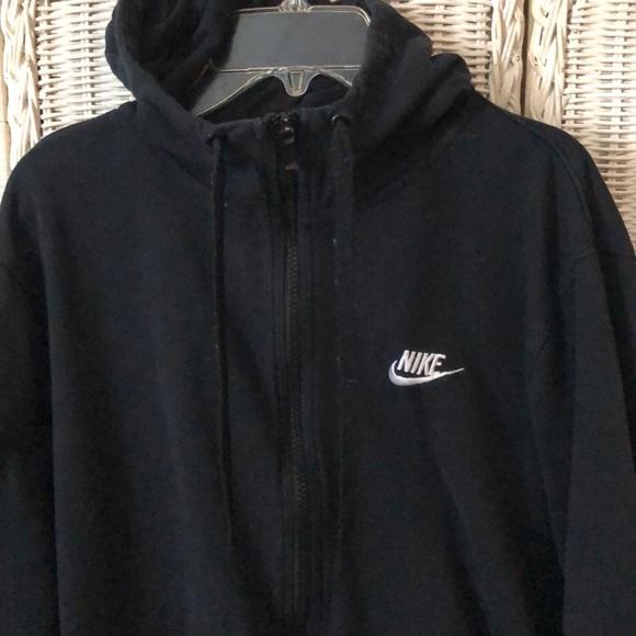 Hooded Nike.